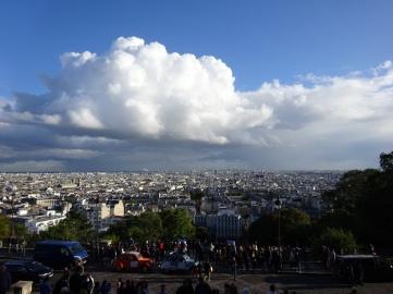 Parissicht von Sacre-Coeur